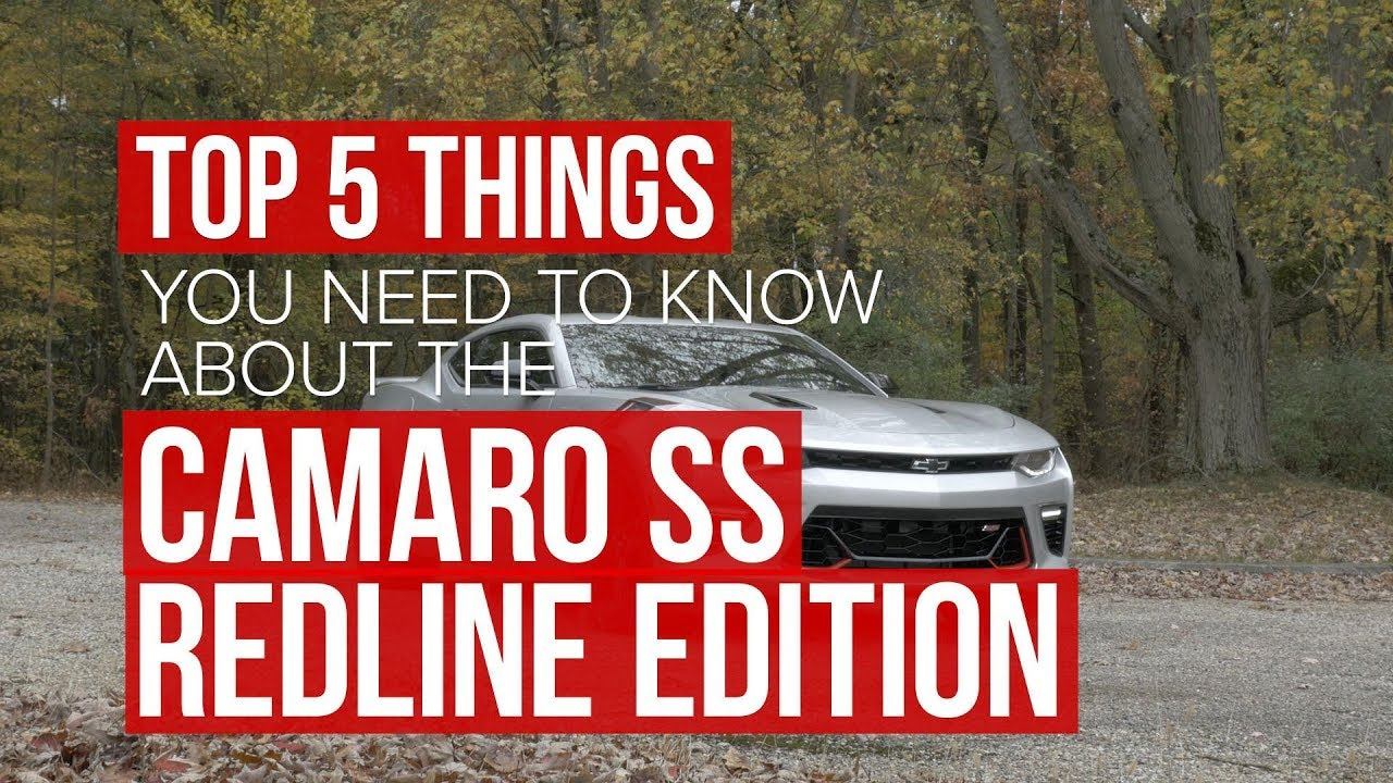 2018 Chevrolet Camaro SS Redline Edition: Five things to know - Dauer: 79 Sekunden