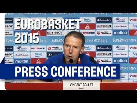 France v Turkey - Post Game Press Conference - Re-Live - Eurobasket 2015