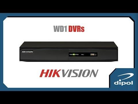 CCTV Network DVR: HIKVISION DS-7208HVI-SV (8ch-WD1-HDMI)