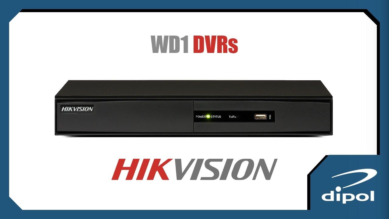 CCTV Network DVR: HIKVISION DS-7204HVI-SV (4ch-WD1-HDMI)