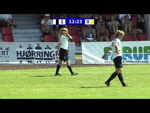 Dana Cup 2014 - G15 Finals - EFT International (DEN) - Bærum SK (NOR) - 1st Half