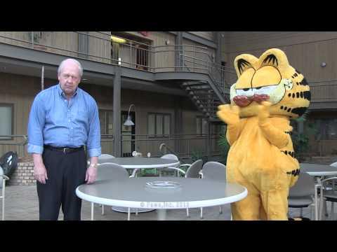 Jim Davis VS. Garfield - Too Nuts For Donuts