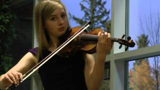 Susanna Heystek - Mountains of Mourne on violin and keyboard