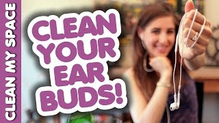 Clean Earbuds or In-Ear Headphones! Simple Cleaning Ideas for Audio Electronics (Clean My Space) Thumbnail