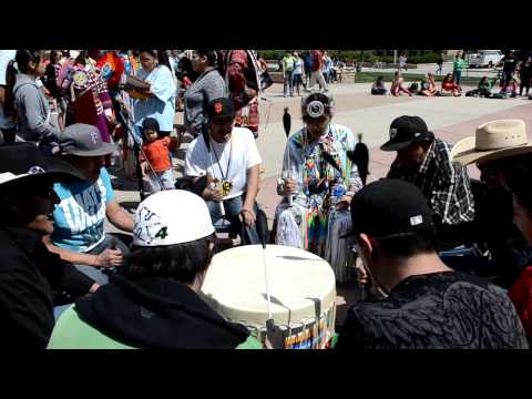 Drum Group at Colorado State University's Spring Cultural Dance Exhibition
