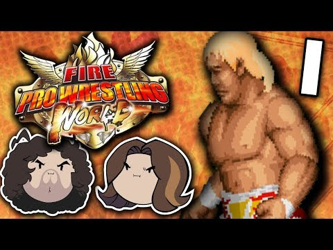 Fire Pro Wrestling World: World's Greatest Fighting Game - PART 1 - Game Grumpsd 1
