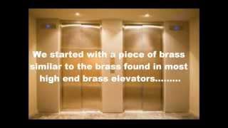 Brass and Bronze Elevator Polishing