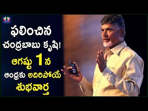 Chandrababu Naidu Going To Announce A Good News For Andhra     Vijayawada    TFC News
