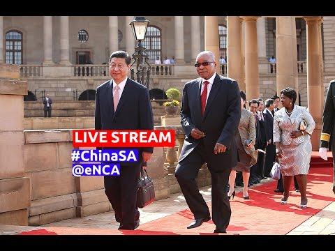 President Zuma hosts Chinese President Xi Jinping