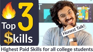3 Most Important Skills to be Successful | for all students | Honest Talk