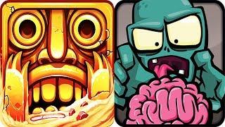 Temple Run 2 vs Zombie Infection