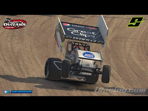 World of Outlaws - Eldora Speedway - April 18th 2019 Race 2