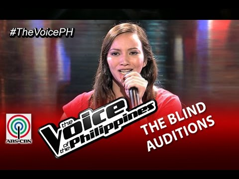 """The Voice of the Philippines Blind Audition """"Pangarap Lang"""" by Vanessa Monot (Season 2)"""