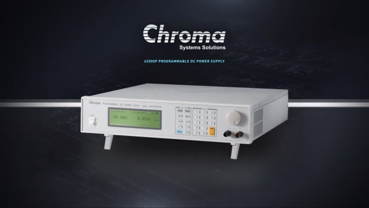 Programmable DC Power Supply - 62000P | Chroma