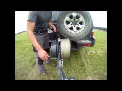 Ultralight Paraglider And Hang Glider Winch