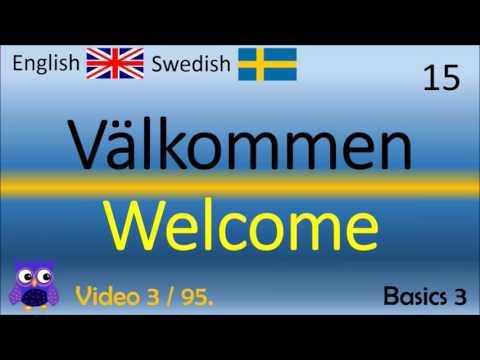 03 Basics (3) Grunderna Svenska - Engelska Ord / Swedish - English Words engelska språket ord