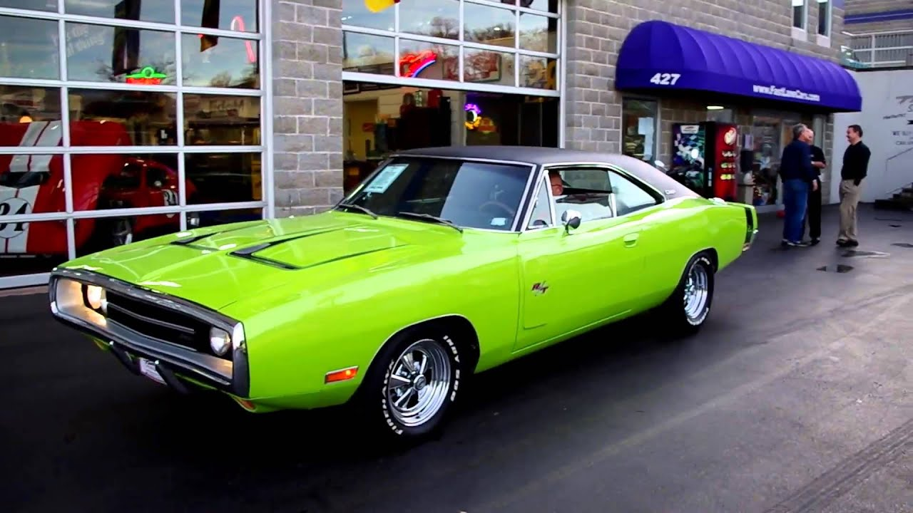 1970 Dodge Charger R/T - Fast Lane Classic Cars - YouTube