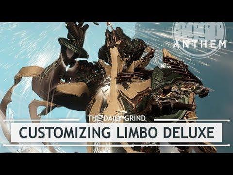 Warframe: Customizing Limbo's Limina Skin [dressedtokill] thumbnail