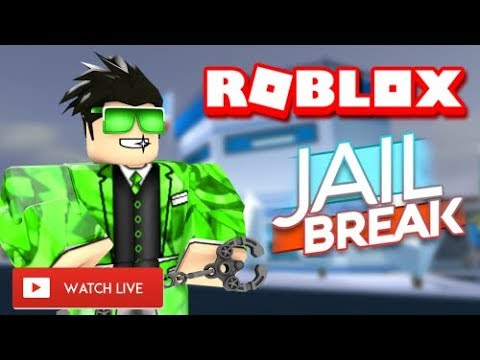 😃 ROBLOX JAILBREAK LIVE STREAM! 😃   RIP X 😢   ROBLOX Live 🔴