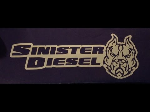 Taking a look at the Sister Diesel EGR delete kit.