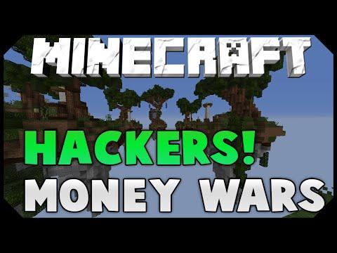 "Minecraft: MONEY WARS #2 - ""FIGHTING HACKERS"""
