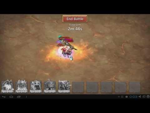 Castle Clash Boss 2 Solo And HMB