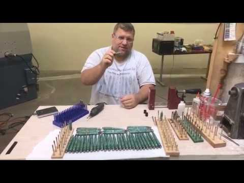 Tips for making Circuit board pens,   Pen turning tips