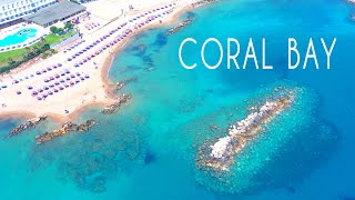 Coral Bays 2020 Paphos Cyprus Drone Review