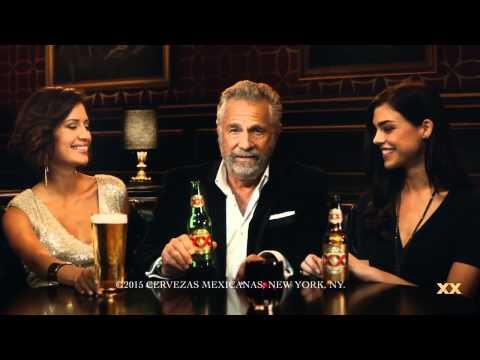 Kristel Elling in  Dos Equis Beer TV Commercial