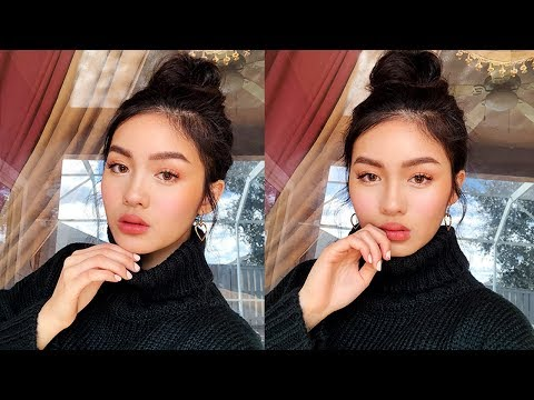 SOFT EVERYDAY WINTER MAKEUP + SKINCARE | Jessica Vu