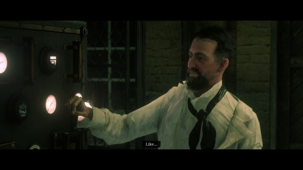 Red Dead Redemption 2 A Bright Bouncing Boy (Professor Dragic)