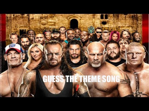 Guess The WWE Theme Song : Part 1