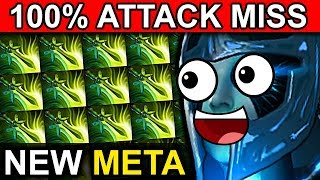 WTF 100% ATTACK MISS 4x BUTTERFLY PHANTOM ASSASSIN - DOTA 2 PATCH 7.07 NEW META PRO GAMEPLAY