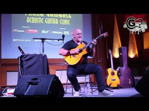 Frank Gambale Cort Acoustic Guitar Clinic Indonesia 2016