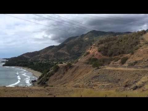 Cuba's South Coast on the Caribbean and the Sierra Maestra