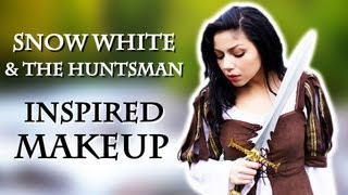 Snow White and The Huntsman Inspired Makeup