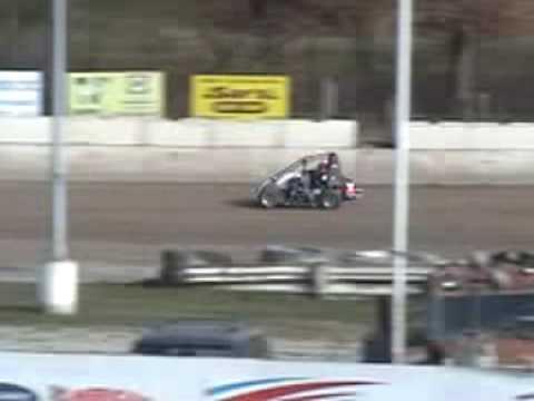 Chris Stockham Wingless 600 sprint test -penn can speedway 11/16/09