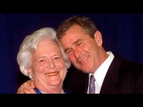 George W. Bush on Barbara Bush: Laura and I are grateful for peoples prayers