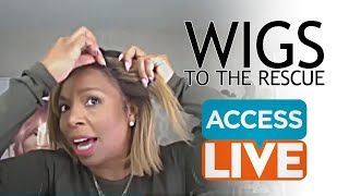 ACCESS DAILY: WIGS TO THE RESCUE with Celebrity Hairstylist Kiyah Wright
