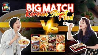 Big Match: Ramyeon Vs. Gimbap!! | Tournament-K Hansik EP03 Highlight Ver