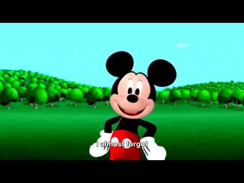 Micky mouses club house theme song but its BACKWARDS