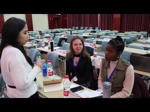 Wuhan University's Model United Nations Conference 2018
