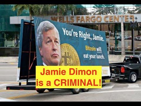 "Jamie Dimon is a ""Bitcoin IDIOT!!"" (Bix Weir)"