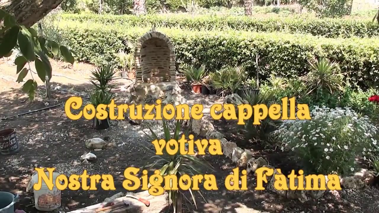 Costruzione cappella votiva nostra signora di f tima - Immagini di aiuole da giardino ...