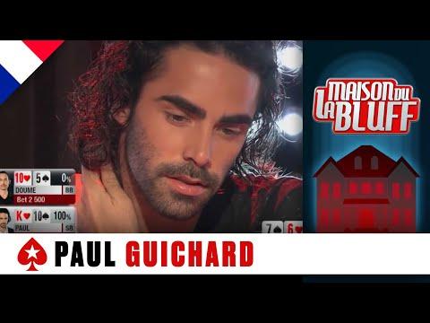 Paul Guichard et le plus beau coup de poker de La Maison du Bluff 5