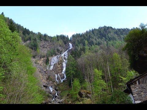 Cascata della Borleggia a Branzi, Val Brembana, Parco Orobie Bergamasche