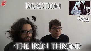 "Game of Thrones 8x06 ""The Iron Throne"" Reaction w/Victorlaszlo88 Parte 1"
