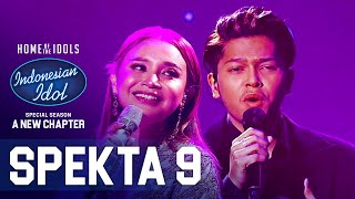 MARK X ROSSA - KAMU YANG KUTUNGGU (Rossa ft. Afgan) - SPEKTA SHOW TOP 5 - Indonesian Idol 2021
