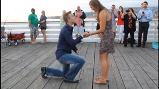 My Surprise 30th Birthday Day... turns into her PROPOSAL! :) - (Andy Grammer)