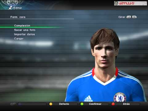 Fernando Torres in Chelsea [New Face] [HD] + Download - PES 2011